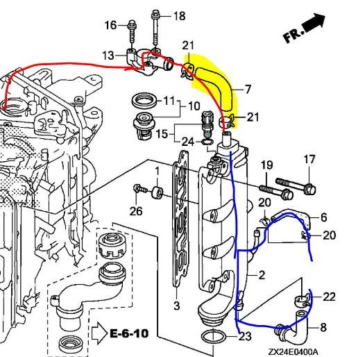 How To Tap An Outboard Engines Water Cooling System For On Board Hot Water  - Page 3