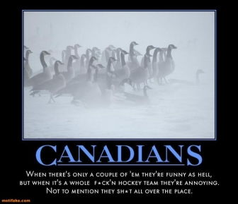 canadians hosers poster 1