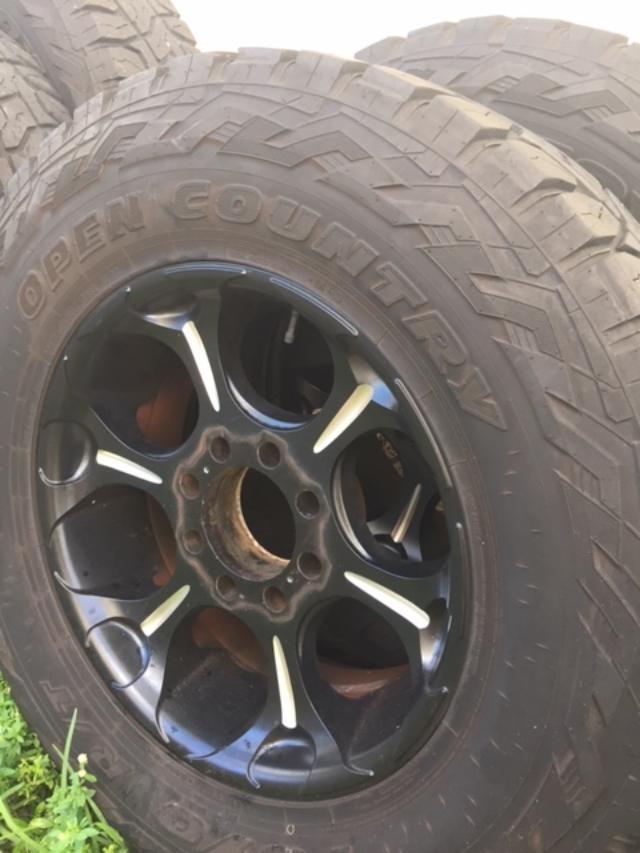 2018 Ford F350 >> F250/F350 37x12.50x20 Toyo Tires, Fuel Wheels REDUCED ...