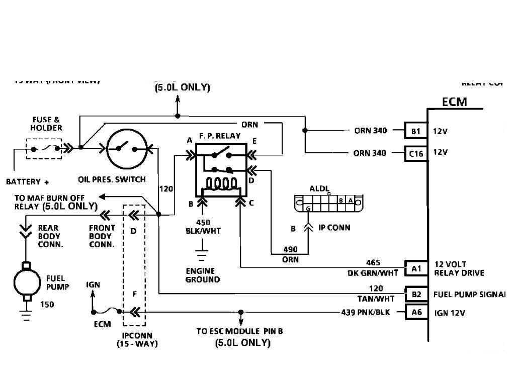 88 TBI camaro fuel pump wiring diagram Third Generation