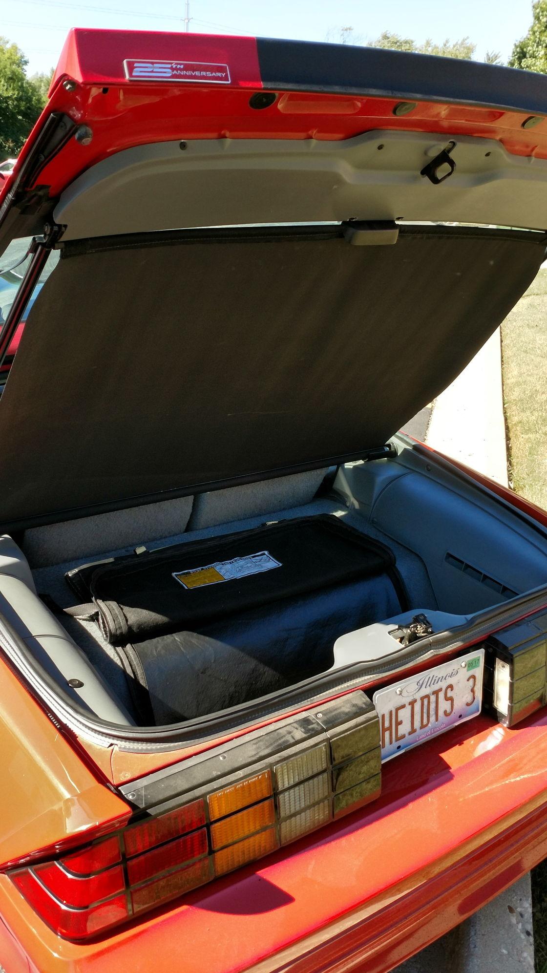 Illinois 1992 Heidts Camaro Test Car Third Generation F