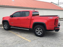Totally customized Red Hot Z71 Colorado