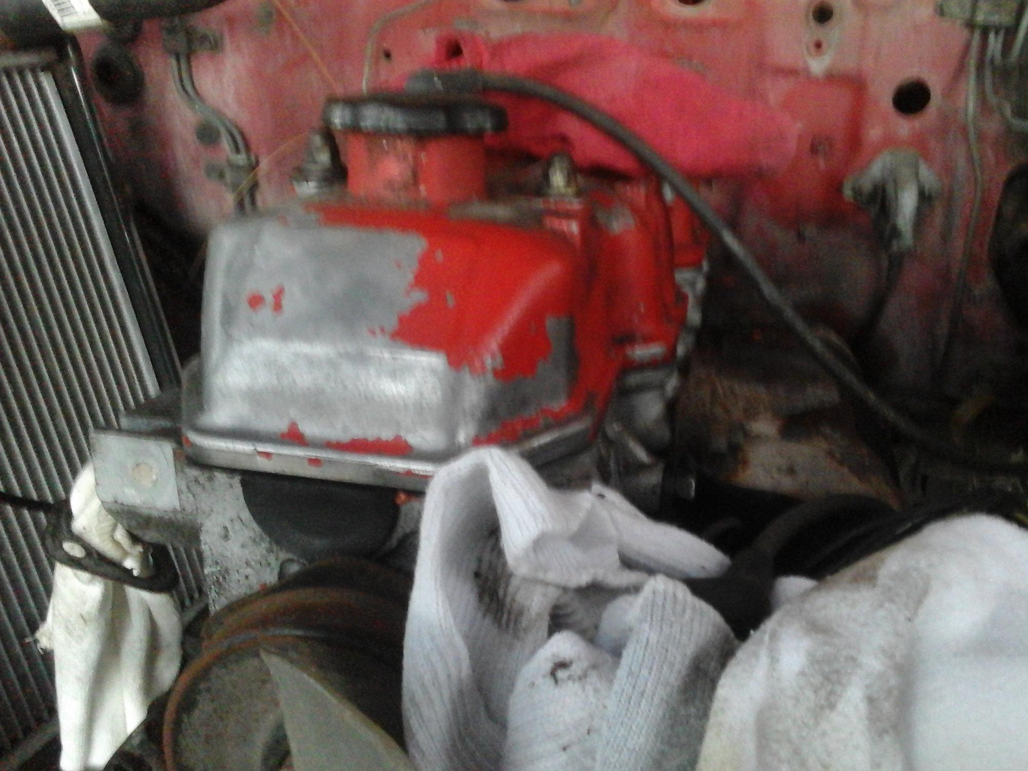 Unseizing A 2 Stroke Engine