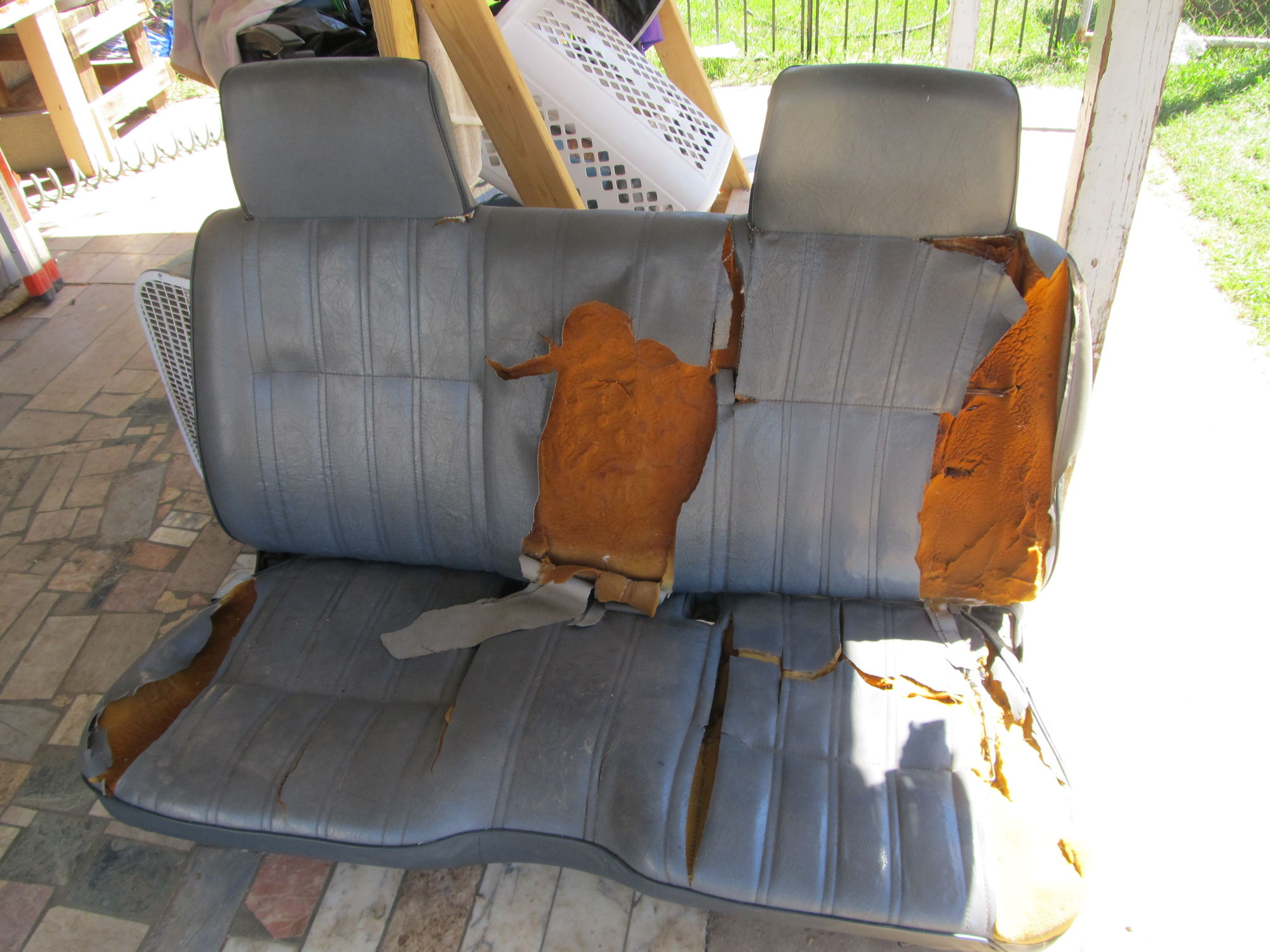 Bench Seat To Bucket Seats Yotatech Forums