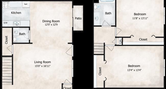 The Broadmoor Floorplan Diagram