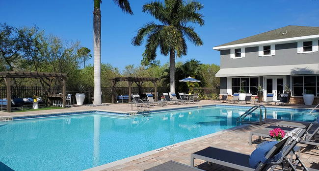 Our resort-style pool offers residents free Wi-Fi, inviting cabanas and gas grills. We are excited to offer in-person tours while following social distancing and we encourage all visitors to wear a face covering.