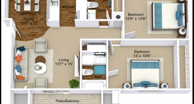 Ridgewood Village - 69 Reviews | Grand Rapids, MI Apartments