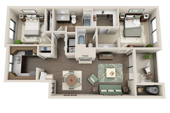 Sonoran Apartments 176 Reviews Phoenix Az Apartments For Rent